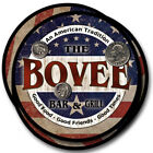 Bovee Family Name Drink Coasters - 4pcs - Wine Beer Coffee & Bar Designs