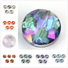 Faceted Frosted Crystal Glass14mm 18mm Round Spacer Loose Beads Jewelry Findings
