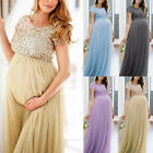 Women Pregnancy Summer Maxi Maternity Photography Cocktail Party Long Gown Dress