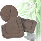 Washable Adult Cloth Diaper Insert Incontinence Pant Charcoal Pad 5 Layers ##