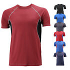 Внешний вид - Men's Sport Quick-Dry Gym Workout  Running Breathable Cool Performance T-shirt