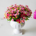 Simulated Chrysanthemum Flower Decor Balcony Hanging Basket 28 Heads Floral A5X