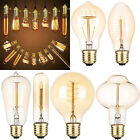 E27 40W Vintage Industrial Retro LED Edison Bulb Filament Lights Deco Lamps...