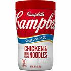 Campbell's Soup on the Go, Chicken & Star Shaped Pasta, 10.75 oz (Pack of 8)