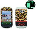 [Glow in Dark] For Samsung R740/S738/S730 Hybrid ShockProof Armor Case Cover