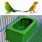 Food Bowl Feeder Parrot Cage Animal Plastic Drinking Hanging Pigeons Feeding