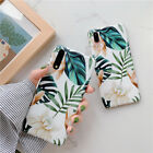 Soft Phone Case For Huawei P20 P30 Pro Mate 20 Lite Art Painting White Flower
