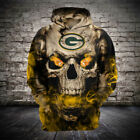 Green Bay Packers Football Hoodie Hooded Sweatshirt Jacket gift for fan on eBay