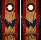 Washington Capitals Cornhole Wrap NHL Decal Wood Vinyl Gameboard Skin Set YD62 $39.55 USD on eBay