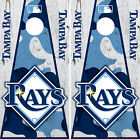 Tampa Bay Rays Cornhole Wrap MLB Decal Vinyl Camouflage Gameboard Skin Set YD358 on Ebay