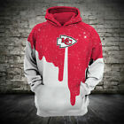 Kansas City Chiefs Football Hoodie Hooded Sweatshirt Jacket gift for fan on eBay