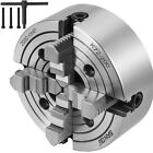 """Lathe Chuck 6""""/8""""/10"""" 4-Jaw Independent & Reversible K72"""