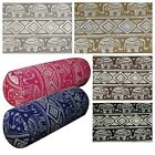 Bolster Cover*Animal Cotton Canvas Neck Roll Tube Yoga Massage Pillow Case*AL10