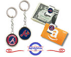 FREE DESIGN > ATLANTA BRAVES - Money/Gift Card Clip or Keyring <FAST SHIP> on Ebay