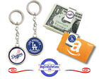 FREE DESIGN > LOS ANGELES DODGERS - Money/Gift Card Clip or Keyring <FAST SHIP> on Ebay
