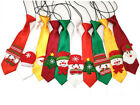 Mixed Patterns Cute Unique Christmas Large Dog Ties Dog Neckties Pet Supplies