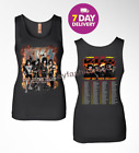 Kiss 'End of the Road' World Tour Dates 2019 Black Women T-shirt tee.S-2XL. image