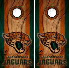 Jacksonville Jaguars Cornhole Wrap NFL Decal Wood Vinyl Gameboard Skin Set YD325 $39.55 USD on eBay