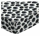 Sheetworld Cow Spots Fitted Crib Sheet