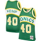 Shawn Kemp #40 Seattle Supersonics Classic Green Throwback Swingman Jersey on eBay