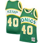 Shawn Kemp #40 Seattle Supersonics Classic Green Throwback Swingman Jersey
