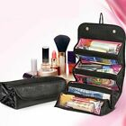 Travel Roll up Cosmetic Make-up Case Beauty Organizer Pouch Hanging Toiletry Bag