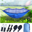 Portable Outdoor Mosquito Net Hammock 2 Person Nylon Camping Swing Hanging Bed