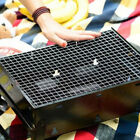Внешний вид - 3 Sizes BBQ Grill Stainless Steel Net Wire Mesh Camping Barbecue Outdoor Picnic