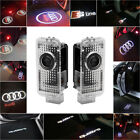 For Audi Cree Led Car Door Light Projector Puddle Courtesy Entry Logo Light Lamp