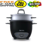 Housewares Pot Cut Rice Cooker and Food Steamer 6-Cup Cooked, 3-Cup Uncooked