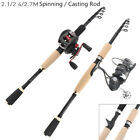 Внешний вид - Telescopic Fishing Rod Spinning Fish Hand Tackle Sea Casting Carbon Fiber Pole