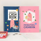 Monster Cash Book 1 Year Money Record Account Budget Planner Diary Notebook