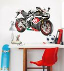 3D Aprilia Motorcycle A48 Car Wallpaper Mural Poster Transport Wall Stickers Zoe