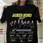 James Bond 007 58th anniversary - BLACK T-shirt $19.99 USD on eBay