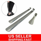 6-20 Long Handled Metal Shoe Horn Lifter Stainless Steel with Hanging Hole