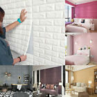 1/10/20x 3D Tile Brick Wall Sticker Self-adhesive Waterproof Foam Panel Sticker