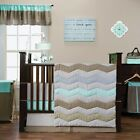 Trend Lab Cocoa Mint Baby Nursery Crib Bedding CHOOSE FROM 3 4 5 6 7 Piece Set