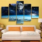 5 Panels Space canvas painting Wall Pictures for Living Room Home Decoration