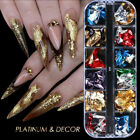 Nail Sequins Aluminum Irregular Flakes Nail Art Decoration Mirror Glitter Tools