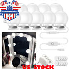 10pcs LED Makeup Light Kit Mirror Bulbs Table Set Dimmable Hollywood Vanity Lamp