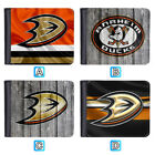 Anaheim Ducks Leather Wallet Purse ID Credit Card Holder Men $9.99 USD on eBay
