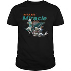 Miami Miracle Miami Dolphins T-Shirts Cotton M-3XL US Men's Clothing Trend 2019 on eBay