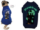Halloween Dog Tee Shirt - Casual Canine - I'm So Cute Its Scary - Glow In Dark