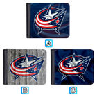 Columbus Blue Jackets Leather Wallet Purse ID Credit Card Holder Men $9.99 USD on eBay