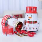 Tumbler tin box candy Tea Can Container jar Storage Box biscuit baking gift box