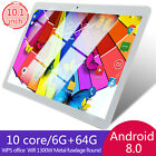 10 Inch Tablet Android 8.0 6+64gb Tablet Pc With Tf Card Slot And Dual Camera