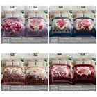 Heavy Korean Mink Fleece Blanket 2 Ply Reversible Silky Soft Plush Warm Blanket image