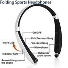Bluetooth Neckband Headphone Bluetooth Headset Retractable  for iPhone Android