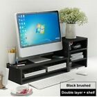 3-Tire Computer Laptop Monitor Stand Riser Office Home Space Saver Keyboard Rack