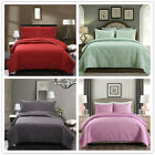 Bedspread Quilt Set - Soft Microfiber Lightweight Coverlet Quilt Set for Summer image